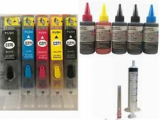 Refillable Ink Kit Cartridge Set for Canon PGI 270 CLI 271 PIXMA MG5720 MG5721