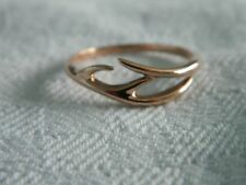 Clogau 9ct Rose Welsh Gold Red Hart Ring RRP £280.00 size S