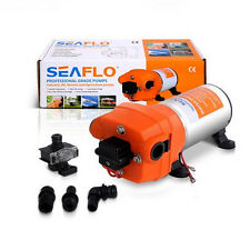 Nice Seaflo10 to 60psi Water Pump 40 PSI 4.5 GPM. Fittings BBCCDC Brand 12V DC