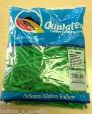 Qualatex Neon Green  260Q Entertainer Balloon 100 ct.