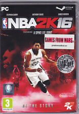 NBA 2K16 Edizione Steam ✰ PC Windows ✰ Nuovo ITALIANO (in foto)
