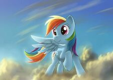 MY LITTLE PONY Photo Poster Print Art A4 260gsm