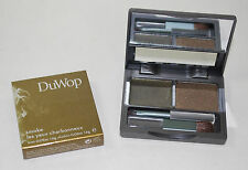Duwop Smoke Duo Full size Eye Shadow Pallet in Black Gold NEW