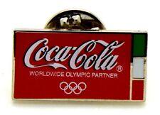 Pin Spilla Olimpiadi Torino 2006 - Coca-Cola Red Flag Italy