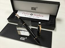 montblanc meisterstuck 144 fountain pen  with all boxes + 14K fine nib