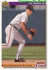 645 CAL RIPKEN JR. DS BALTIMORE ORIOLES BASEBALL CARD UPPER DECK 1992