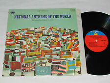 THE VIENNA STATE OPERA ORCHESTRA National Anthems of the World LP Everest USA