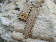 Vintage Strap 26/26 mm, for panerai, handmade, with triple fold technique