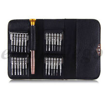 25 in 1 Leather Pouch Repair Opening Tool Kit For iPhone iPod PSP Macbook Air