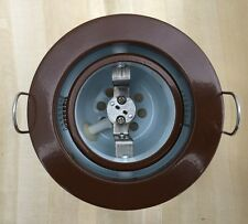 Brown Marine Ceiling Down Lights With Swivel Bezel (No Bulb)