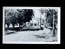 c.1940? Abraham Manchester's Store Old Harbor Rd. Adamsville RI post card