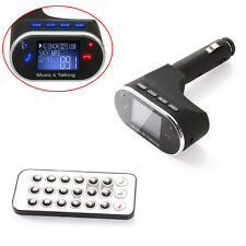 Bluetooth Car Kit Radio Adapter Handsfree FM Transmitter for iPhone HTC Samsung