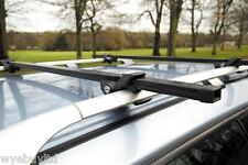 Anti theft roof bars for a 5 door Saab 9-3X year 2009 to 2012 roof cross bars