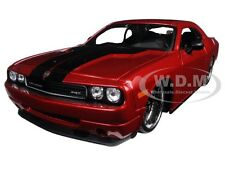 "2008 DODGE CHALLENGER SRT8 RED ""CLASSIC MUSCLE"" 1/24 DIECAST BY MAISTO 31327"