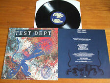 LP TEST DEPT/TERRA FIRMA/SUB ROSA BELGIUM 1988/INDUS WAVE/DEATH IN JUNE CURRENT