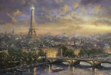 SCHMIDT JIGSAW PUZZLE PARIS, CITY OF LOVE THOMAS KINKADE 1000 PCS #59470