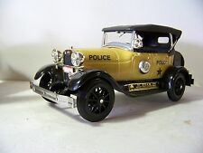 CHERRY Jim Beam Yellow 1929 Ford Model A Phaeton Police Car Decanter