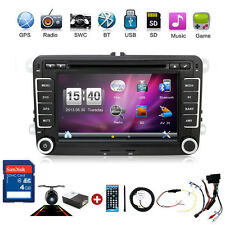 "2DIN 7"" Car Stereo Radio DVD GPS Nav for VW Golf Passat Jetta Touran Tiguan Polo"