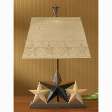 Park Designs Three Star Lamp with Shade