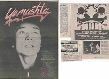 STOMU YAMASHTA : CUTTINGS COLLECTION -adverts-
