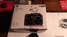 GE Power Pro Series X500 16.0 MP Digital Camera - With 16GB SD Card....BLACK