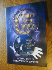 WORLD MAGIC AWARDS 2007 EMMY FYC DVD Roger Moore Pamela Sue Anderson +PHOTOmag