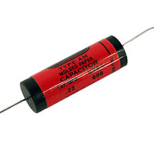 Jupiter Red Astron style capacitor, 0.22uF @ 600V