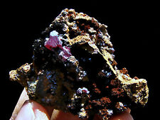 "2.0""  Red  Cuprite and Copper From Daye Hubei Prov ,China!"