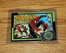 Rare & Collectible 1993 TEAM BLOCKBUSTER #45 Spiderman X-Men Game Card - NrMint