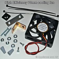 Dometic Refrigerator Cooling Fan RV Ventilator Replacement/Add On + Instructions