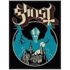 OFFICIAL LICENSED - GHOST - OPUS EPONYMOUS SEW ON PATCH METAL SWEDEN