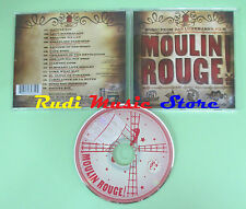 CD Moulin Rouge compilation Bono Bowie FatBoy Slim Aguilera no mc dvd vhs(C35*)