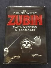 Zubin Mehta Classical Musical Conductor Autobiograph w/ 2 Signed Autograph Book