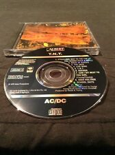 AC/DC T.N.T. CD EARLY MADE IN  AUSTRALIA PRESS RARE BLACK ALBERT 465262 2 SONY