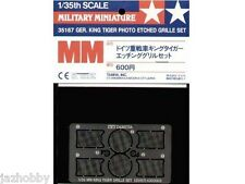 Tamiya 35167 1/35 German King Tiger Tank Model Photo Etched Grille Set PE Parts