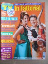 TV Sorrisi e Canzoni n°12 2005 Barbara D'Urso Pupo Jennifer Lopez   [D51]