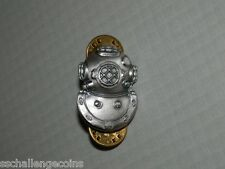 Enlisted Regulation Badge Navy Diver 2nd Class Pin