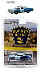 1:64 GreenLight *COUNTY ROADS R10* 1977 Dodge Royal Monaco MA STATE POLICE *NIP*