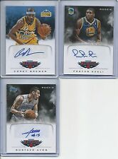 2012-13 Panini Marquee Rookie Signatures Lot of 3 Ayon Brewer Ezeli
