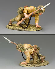 KING AND COUNTRY WW2 Crouching Soldier Japanese Navy JN37 JN037