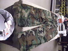 US Military Issue Woodland Camo Winter Trouser Size Med /Reg. Unissued Cond