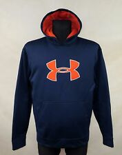 UNDER ARMOUR MENS HODIE HOODED JUMPER NAVY BLUE JACKET size L