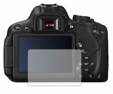 2 Pack Screen Protectors Cover Guard Film For Canon EOS 650D (Rebel T4i)