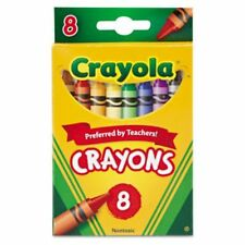 Crayola Crayons, Classic Colors, 8 Ct. (1 Case of 12 Packs)