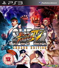 Super Street Fighter 4-Arcade Edition Ps3 * En Excelente Estado *