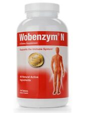 2 Bottles Wobenzym N - Mucos Pharma - Germany, Immune Health - 100 Tablets each