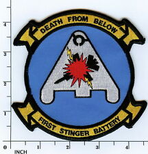 USMC 1st Stinger Battery PATCH Low-Altitude Air Defense Missile 1st LAAD Marines