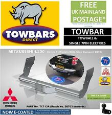 Towbar for Mitsubishi L200 Double Cab Series 5 2015 on with bumper step TC713A