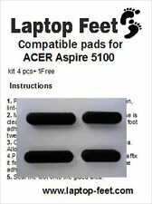 Laptop Rubber feet for ACER ASPIRE 5100 Compatible kit  (4 pcs self adh. by 3M)