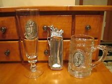 Golf, Golfer, Golfing The Drive, 3 D Stein, Elias 1992 Pewter Golf Collectible